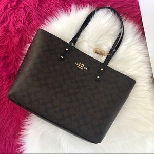 LARGE COACH TOTE BAG AUTHENTIC